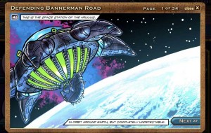 Doctor Who Defending Bannerman Road interactive comic