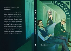 Two Keys Manga by Chloe Chan and Aliena Shoemaker