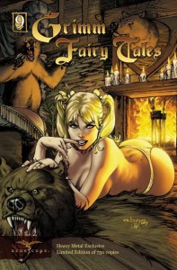 Grimm Fairy Tales Number 9 Goldilocks
