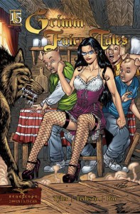 Grimm Fairy Tales Number 15 the Three Little Pigs