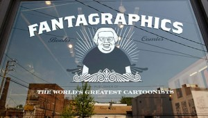 Indie Alt Obscene Adult the Fantagraphics store is a Seattle treasure