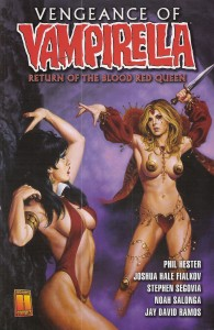 Vampirella Return of the Blood Red Queen
