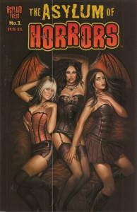 Asylum of Horrors the best of underground horror comics