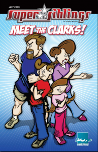Super Siblings Meet the Clarks