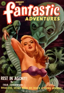 Fantastic Adventures Pulp Book
