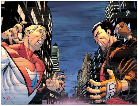 Irredeemable 32 and Incorruptible 25 Crossover