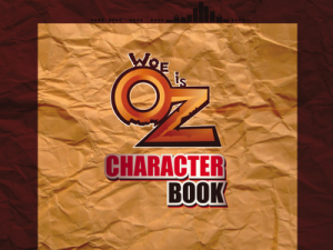 Woe Is Oz Character Book