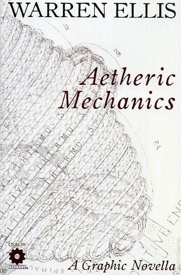 Aetheric Mechanics written by Warren Ellis
