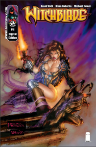 Witchblade Number 1 Top Cow and Image