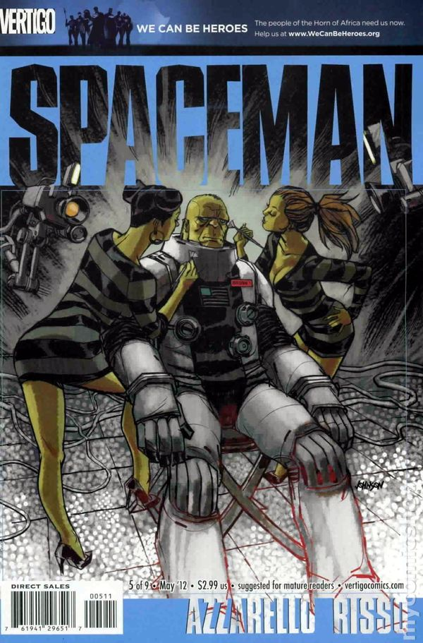 Spaceman 5 by Brian Azzarello and Eduardo Russo