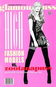 Glamourpuss #23: High Fashion Models VS. Zootanapuss and Bunny the One-Rabbit Wrecking Crew