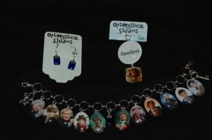 Custom Doctor Who jewelry from Optimystical Studios