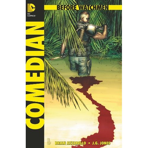 Before Watchmen Comedian 2 Written by Known Trope Vigilante Brian Azzarello