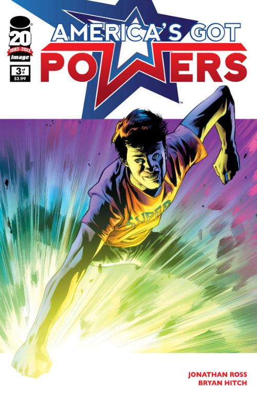 America's Got Powers #3 comic cover