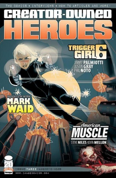Creator Owned Heroes 3