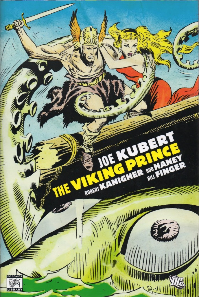 Here's some art by the late Joe Kubert: 1926 to 2012