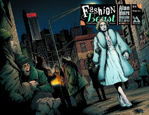 Fashion Beast #1 wrap cover