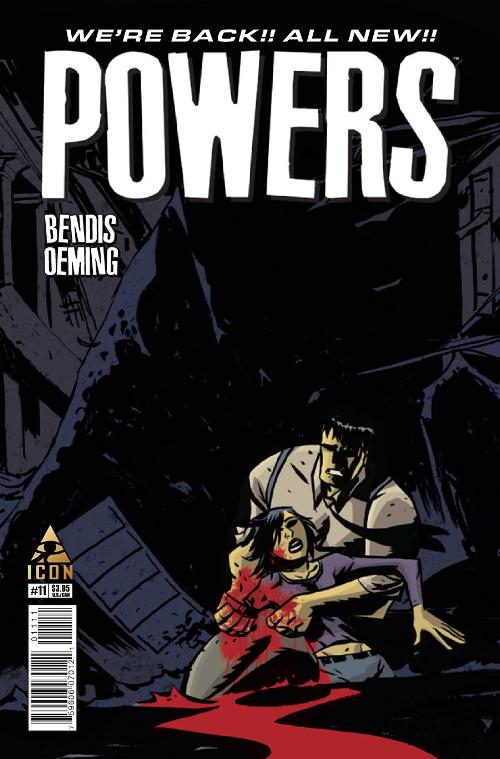 Powers #11 cover