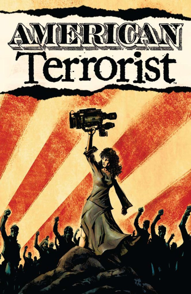 American Terrorist Trade Paperback Comic Book