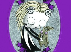 Lenore Purple Nurples by Roman Dirge