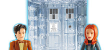 Just in the Dematerializing Tardis Character Building Toy