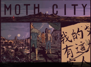 Moth City internal art