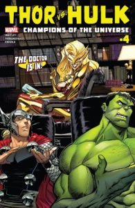 Thor Vs Hulk Champions of the Universe